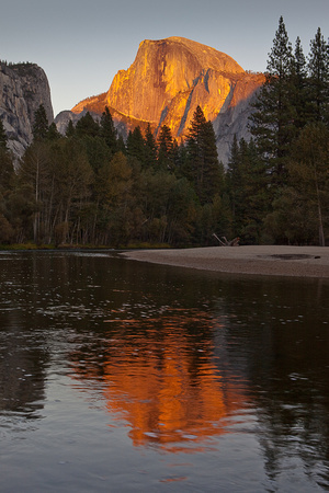 Sunset Half Dome - 0631